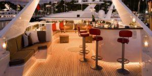 Yacht per eventi aziendali